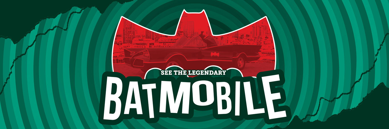 See the legendary Batmobile